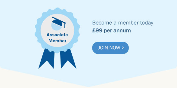 Associate Member - Become a member today £99 per annum. Join now